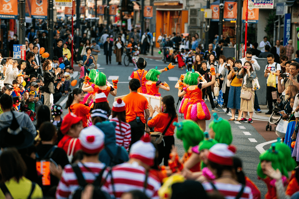 Halloween Paradeの様子